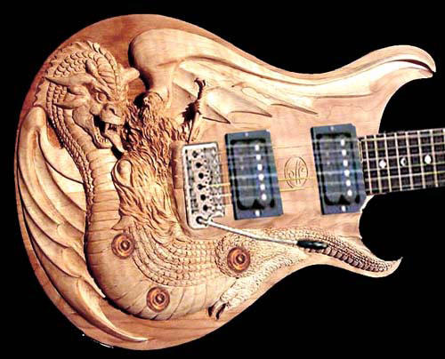 cool odd shape or painted guitars my cool guitars