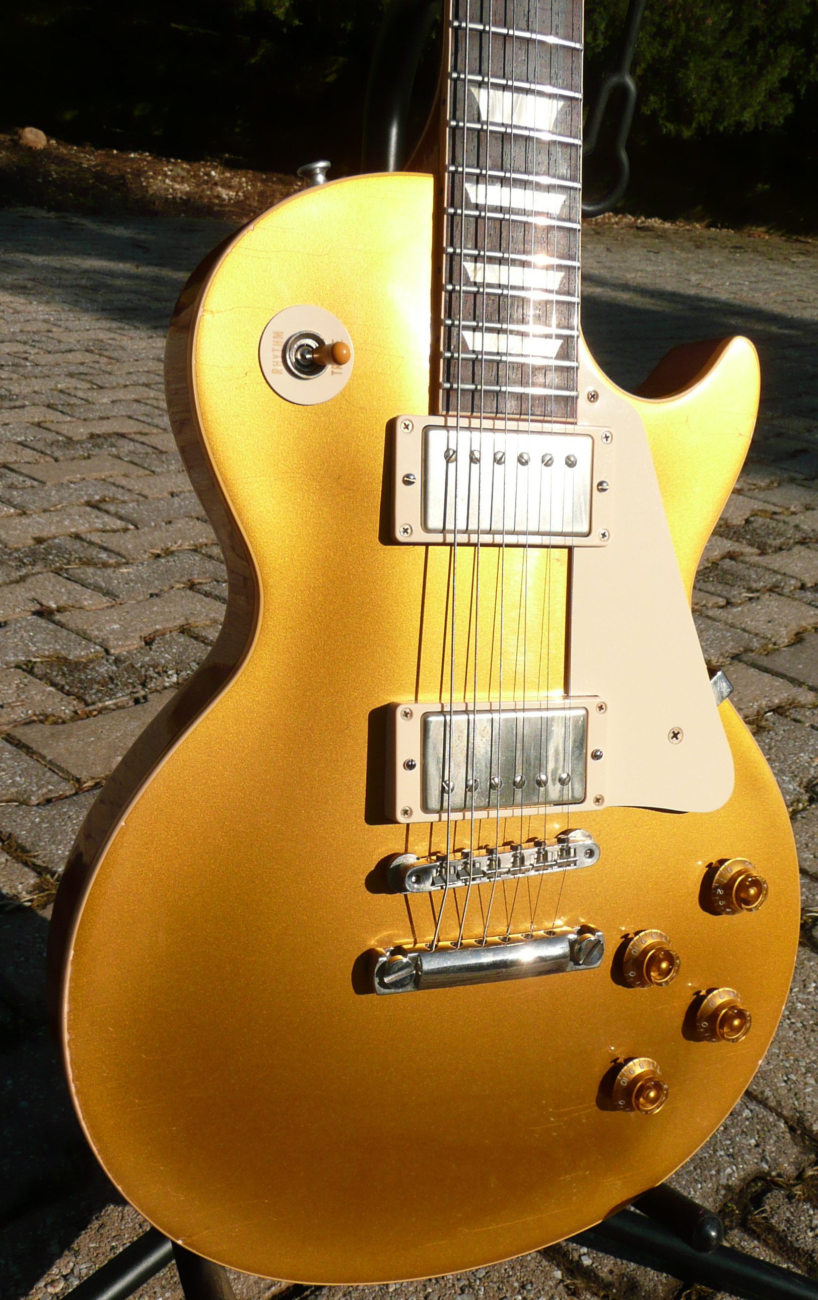 Gibson Custom Shop R7 Murphy Aged 1957 Gibson Customshop Historic Goldtop