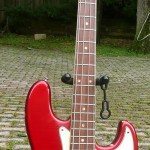 1966 Fender Jazz Bass Candy Apple Red Dots and Bound