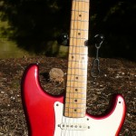 Fender JV St115 Candy Apple Red Stratocaster 1983