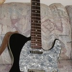 Fender Telecaster built for me by Joe Taino in the 90s